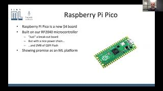 tinyML Talks Eben Upton: Inference with Raspberry Pi Pico and RP2040