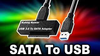 How To Convert SATA To USB? (Hindi)
