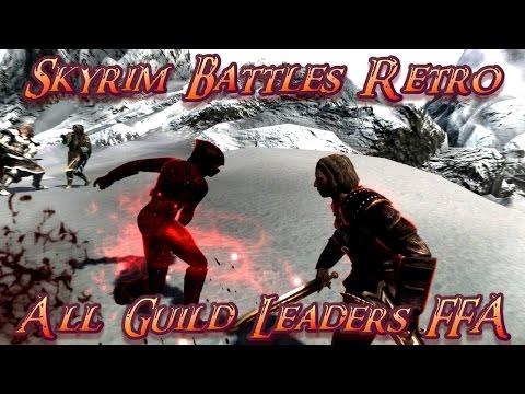 Skyrim Battles - Astrid vs Kodlak Whitemane vs Mercer Frey vs Savos Aren [Legendary Settings]