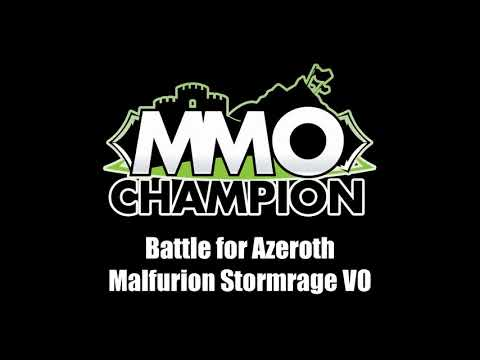 Patch 8.1.5 - Malfurion Stormrage VO