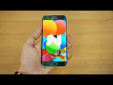 Samsung Galaxy S6 Edge OFFICIAL Android 7.0 Nougat Review! (4K)