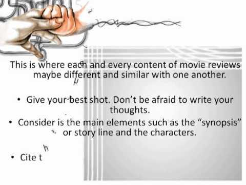 how to write a good movie