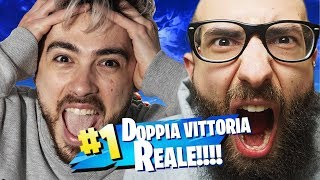 DOUBLE ROYAL VICTORY IN DUO WITH MARZA! FORTNITE ITA
