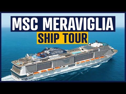 MSC Meraviglia Cruise Ship Tour