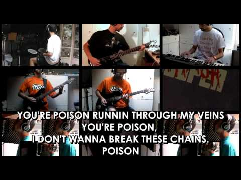 """""""Poison (Karaoke)"""" (Alice Cooper) performed by Forme"""