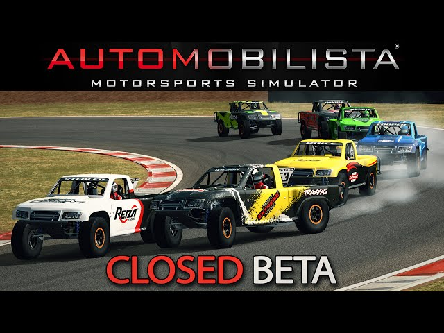 Closed Beta | Automobilista Motorsports Simulator [GER] [HD] Supertrucks @ Cascavel