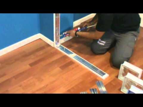 Sistema de montaje de bloques de vidrio easyblok youtube - Como poner fibra de vidrio ...