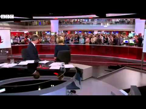The Queen opens the BBC's New Broadcasting House (2013)