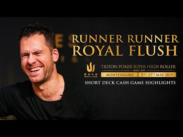 Runner Runner Royal Flush in USD $612k Cash Game Poker Pot!