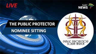 The Public Protector nominee sitting: 24 August 2016