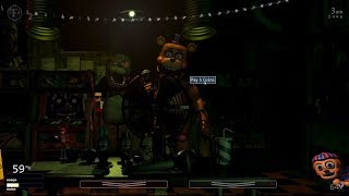 Five Nights At Freddy S Ultimate Custom Night Fan Challenges 10 The Live Stream