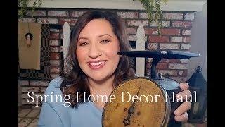 Spring Home Decor Haul 2019