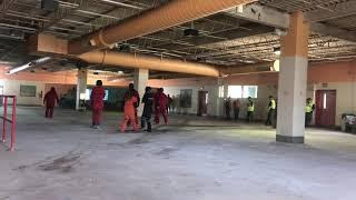 Dining Hall Mock Riot 2018