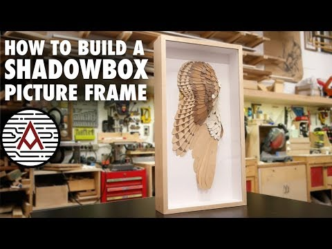 How To Build A SHADOWBOX Frame -- Woodworking