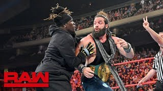 R-Truth spoils Elias' farewell musical performance: Raw, Aug. 19, 2019