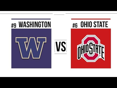 2018 Rose Bowl #9 Washington vs #6 Ohio State Full Game Highlights