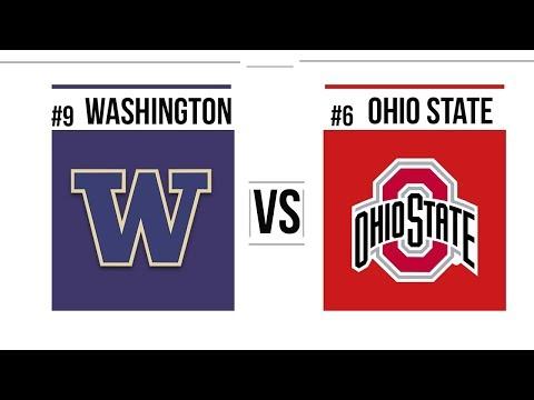 2019 Rose Bowl #9 Washington vs #6 Ohio State Full Game Highlights