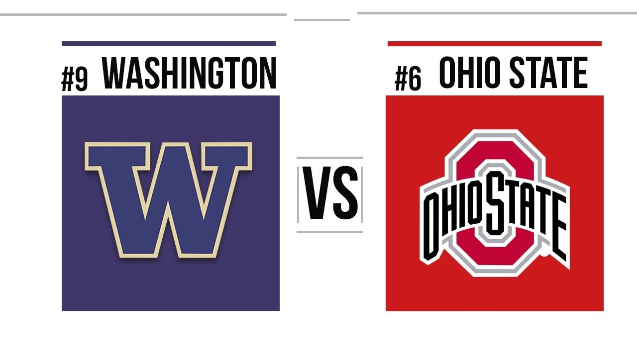 2019 Rose Bowl #9 Washington vs #6 Ohio State Full Game Highlights