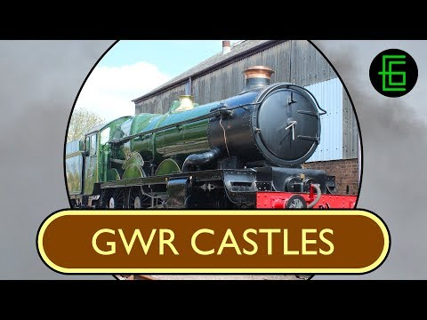 STEAM LOCOS IN PROFILE - Volume One - DVD Sample - GWR Castles