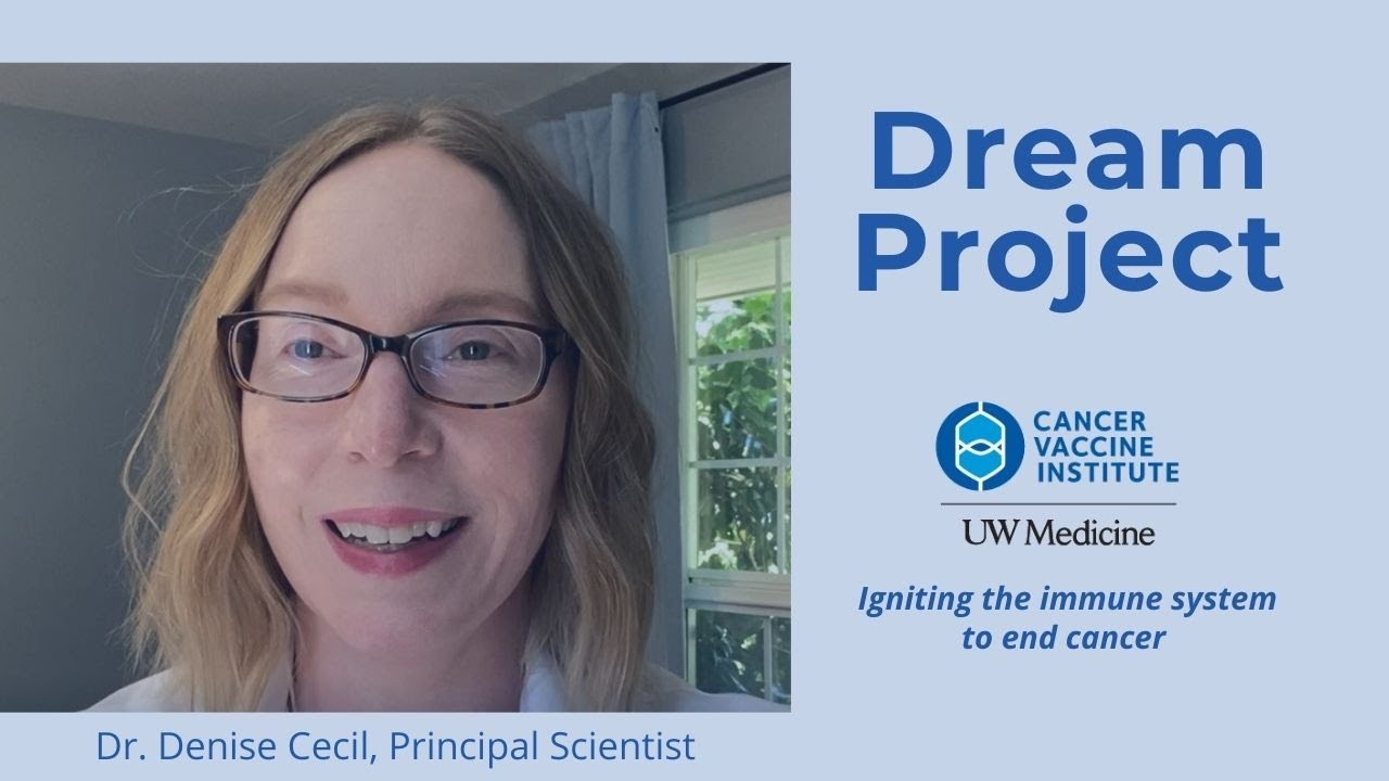 """Announcing… the first Cancer Vaccine Institute """"Dream Project"""""""