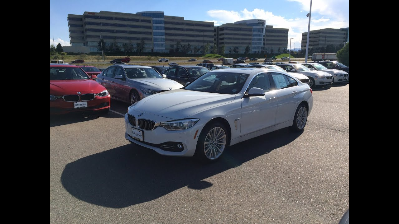 2015 BMW 428i xDrive Gran Coupe Start Up Highlight Tour and All