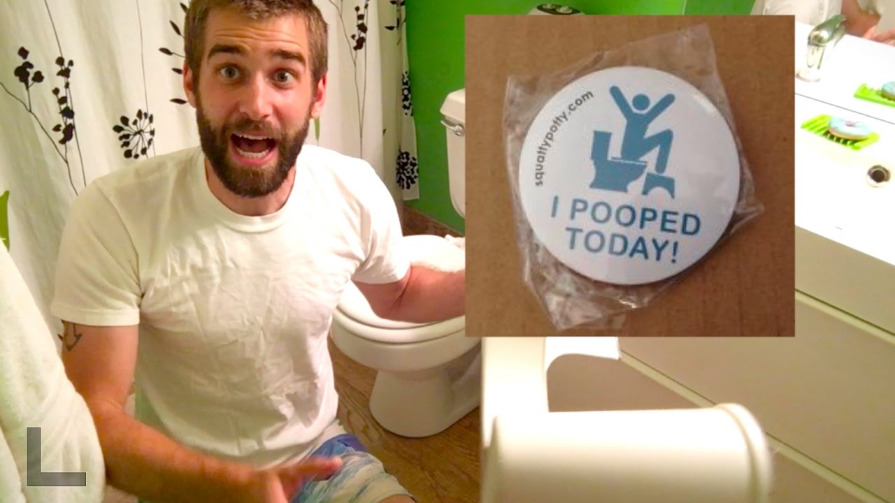 Squatty Potty The Original Bathroom Toilet Stool White