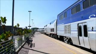 HiDef- Trains on the Metrolink Valley/Ventura Sub: Amtrak P42s on Surfliner; June 8th, 2012