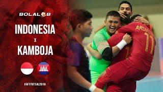 MENANG BESAR!!! Indonesia Vs Kamboja (13-0) - Highlight AFF Futsal Championship 2018
