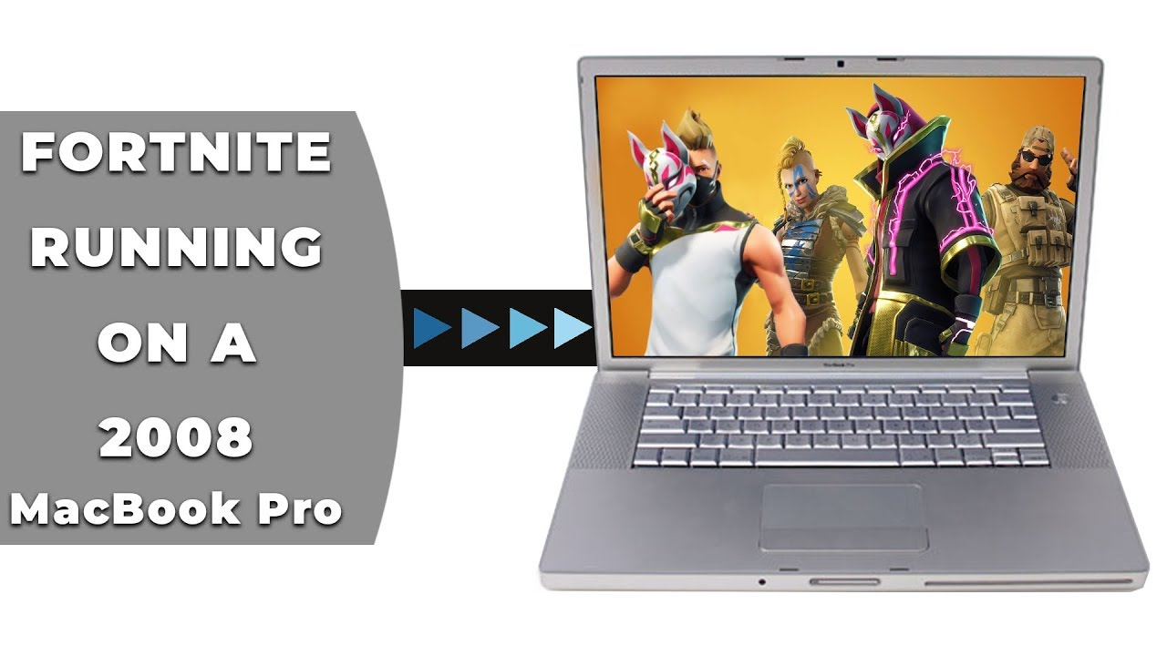 fortnite on mac running on a 2008 macbook pro - how to play fortnite on mac 2019