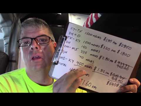 #26 So You Want to be an Owner Operator Flatbed Truck Driver More Money Talk