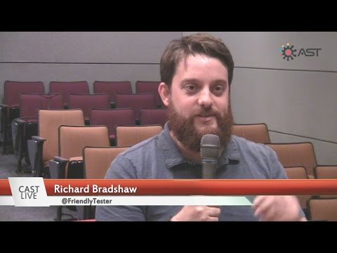 "Automated Testing - Richard Bradshaw on ""CAST Live"""