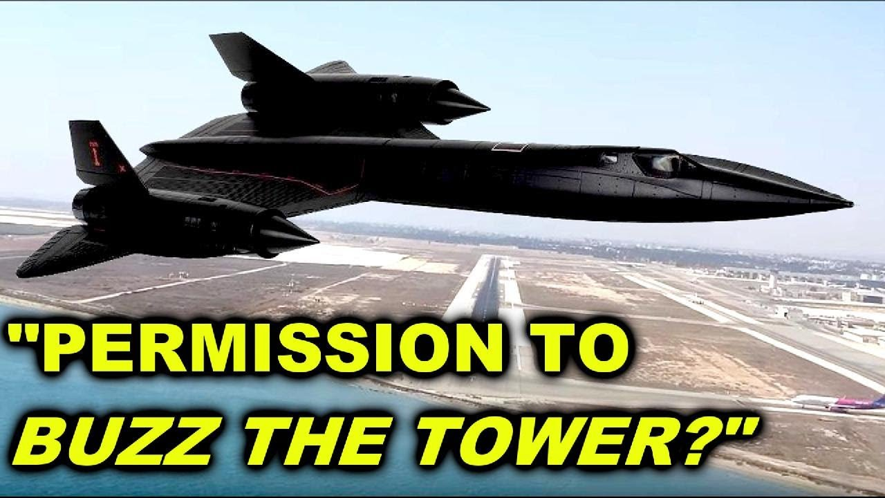 the sr 71 buzzing the tower story you probably never heard before