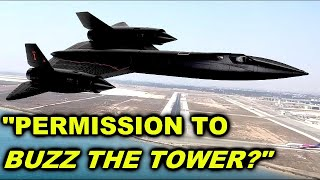 """The SR-71 """"Buzzing the tower""""  story you probably never heard before"""