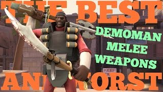 The Best and Worst: TF2 Demoman Melee Weapons
