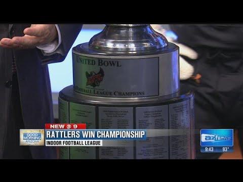 Arizona Rattlers win Indoor Football League Championship