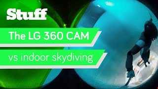 vuclip Promoted: The LG 360 CAM vs indoor skydiving