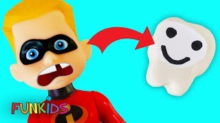 The Incredibles 2 Dash Loses His Tooth & Goes to the Dentist