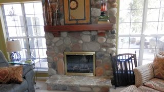 Stone Fireplace Design-charlotte-desert Rust River Rock