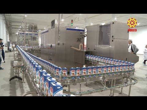 В Чебоксарах снова заработал молочный завод.