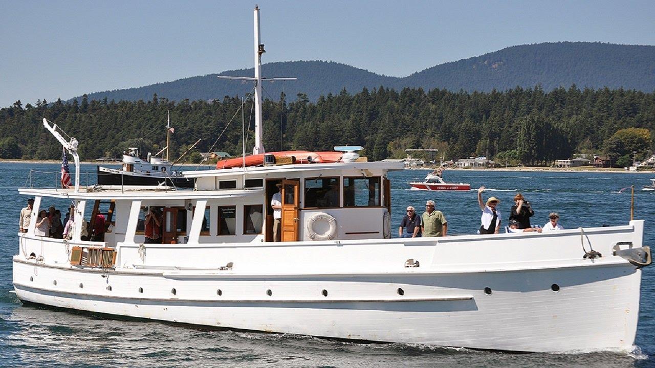 Norwester - John Wayne's 1st Yacht - For Sale - YouTube