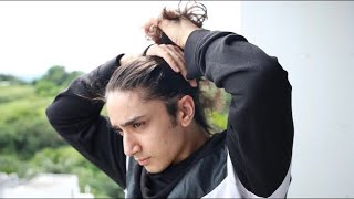My Haircare Routine For SOFTER & THICKER Hair - Mens Haircare Routine (INDIA)