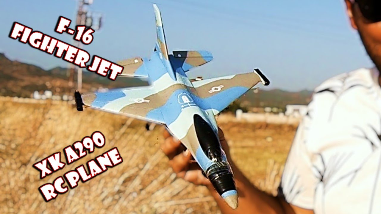 Remote Control F-16 Fighter Jet xk a290 #shorts #short