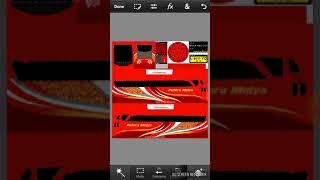 Cara pasang stiker di kaca bus simulator indonesia