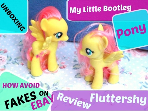 Ebay Scams Fake My Little Pony Mlp Fluttershy Unboxing Review Tips How Avoid Truffa Youtube