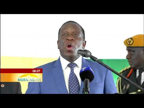Mnangagwa interacted with business leaders in Pretoria