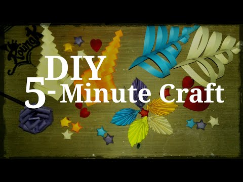 DIY 5-Minutes Craft decoration items by Origami Center