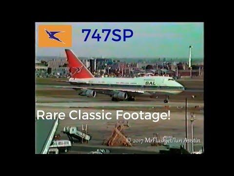 Heathrow GOLD - South African Airways Boeing 747SP /Pan Am & TWA 747's