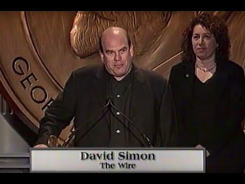David Simon  The Wire  2003 Peabody Award Acceptance Speech