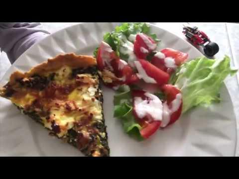tarte-Épinards-feta-avec-pate-brisÉe-maison-/-simple-rapide-et-trop-bon-🤤