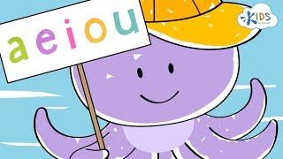 Long and Short Vowels for Kids: A E I O U | Learn English Grammar  Kids Academy